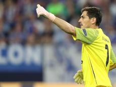 Casillas escribió un tuit enigmático. EFE/Archivo