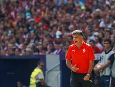 El Eibar quiere reforzar su plantilla con David Okereke. EFE