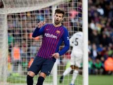 FC Barcelona Gerard Piqué. EFE