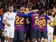 Barcelone et Madrid pourrait s'affronter en seizièmes de finale. EFE
