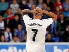 Mariano heredó el '7' de Cristiano, pero no tuvo oportunidades. EFE