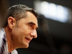 Valverde habló sobre el cambio del descanso. EFE