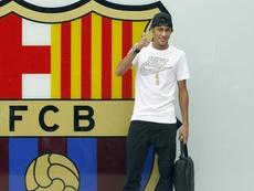 Em 2013, Neymar chegava no Barça. EFE