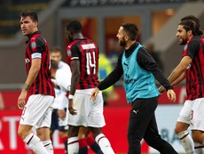 Romagnoli believes that the time is right to leave AC Milan. EFE