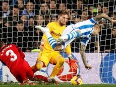 Sandro Ramírez sigue sin marcar. EFE