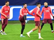 Messi n'a pas joué contre l'Inter. EFE