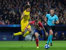 El Atlético perdió también 4-0 frente al Dortmund en Champions. EFE
