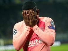 Malcom recuerda el aplauso de Messi. EFE