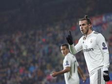 Bale com a titularidade em risco. EFE