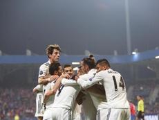 El Madrid se reconcilió con el gol. EFE