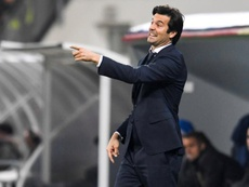 Solari has won all three of his games as Real Madrid manager. EFE