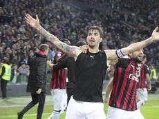 Romagnoli finaliza contrato con el Milan en 2022. EFE