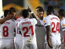 El Sevilla empató en Turquía. EFE