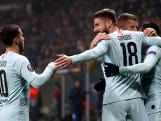 Giroud re-found his goalscoring touch. EFE