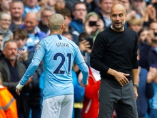 Could David Silva be tempted away from Manchester City? EFE/Archivo