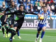 La SD Huesca ha ejercido su opción de compra. EFE