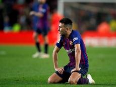 Munir jugará en el Sevilla a partir de enero. EFE