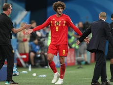 Fellaini a défendu le maillot de la Belgique à 87 reprises. EFE