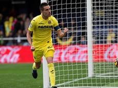 Bruno Soriano recibió los elogios de Jaume Costa. EFE