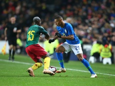 Richarlison pourrait atterrir à Old Trafford. EFE