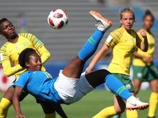 Las jugadoras de Sudáfrica cobrarán lo mismo que la selección masculina. EFE