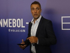 Batistuta se interesa por el banquillo del Middlesbrough. EFE/Archivo