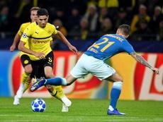 Achraf está contento en Dortmund. EFE