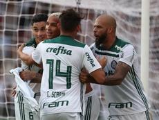 Palmeiras aplasta a Santos y se afianza en el liderato. EFE/Archivo