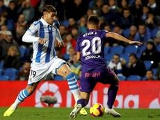 Kevin Vázquez no se confía ante el Granada. EFE
