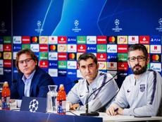 Valverde sait que ce ne sera pas facile. EFE