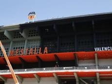 El Valencia quiere celebrar así el centenario. EFE/Archivo