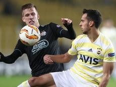 El Ajax ya trabaja en el fichaje de Dani Olmo. EFE