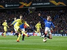 Rangers and Villarreal drew 0-0 at Ibrox. EFE