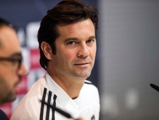 Solari was delighted with his young stars. EFE