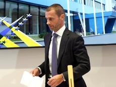 presidente de la UEFA, Aleksander Ceferin. EFE/Archivo