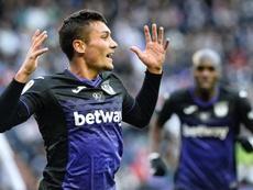 Óscar está cedido en el Leganés por el Real Madrid. EFE