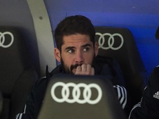Isco will have to earn a spot in the XI from the bench next season. EFE