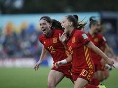 Pina anotó dos goles en la final. EFE