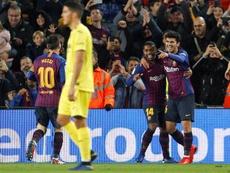 Malcom hizo un repaso de su etapa en el Barça. EFE