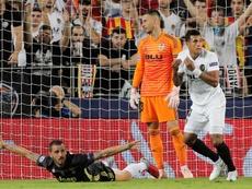 Murillo, cerca de irse al Barcelona. EFE