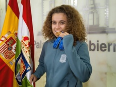 Ana Tejada firma con la Real Sociedad. EFE