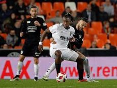 Michy Batshuayi hizo el único gol del encuentro. EFE