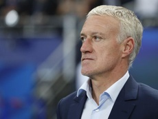 Deschamps fait la mise au point.EFE