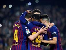Le Barça cherche la remontada. EFE