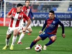 El conjunto bilbaíno eliminó al Huesca con un global de 8-0. EFE