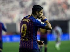 El Barça busca un sustituto para Suárez. EFE/Archivo
