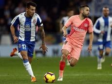 El Espanyol cayó ante el Barça. EFE