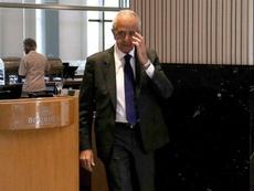 El presidente de River confirmó a Matías Suárez. EFE