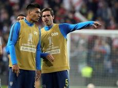 Maradona insiste en llevarse a Goltz de Boca. EFE