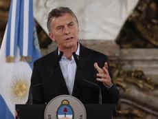 Para Macri, el descenso de River importa más que la Libertadores. EFE/Archivo